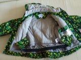 Куртка с комбенезоном для мальчиков зима-осень. Фото 3.