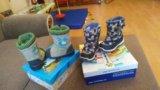 Детская обувь зима. Фото 1.