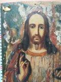 Икона 19 век господь вседержитель . Фото 1.