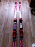 Горные лыжи (комплект). Фото 3.