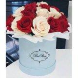 Розы в коробках. Фото 3.