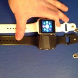 Смарт ватч. модель а1 андроид/айфон/симкарта. Фото 3.