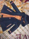 Детское драповое пальто модное. Фото 3.
