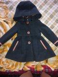 Детское драповое пальто модное. Фото 4.