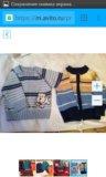3 флисовые кофты и штаны, свитер на раз.74-80. Фото 2.