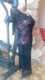 Платье ручная вязка. Фото 3.