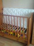 "Детская кроватка качалка ""ванечка"". Фото 2."