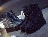Ботинки черные. Фото 1.