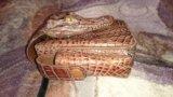 Портсигар из кожи крокодила. Фото 3.