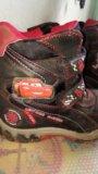 Зимние ботинки disney pixar р-р 28. Фото 2.