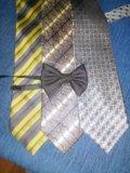 Галстук детский  (бабочка-50;1 галстук-100). Фото 1.