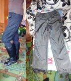 Штаны,брюки теплые на флисе (осень,зима). Фото 1.