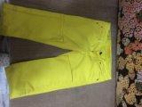 Джинсы ярко желтые. Фото 2.
