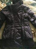Удлиненная куртка осень-зима. Фото 2.