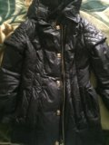 Удлиненная куртка осень-зима. Фото 1.