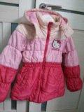 Куртка д/дев 128-134. Фото 1.