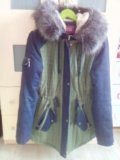 Зимняя курта. Фото 1.