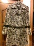 Демисезонное теплое пальто. Фото 1.