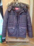 Куртка зимняя с капюшоном на мальчика. Фото 1.