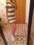 Вязаное платье. Фото 2.