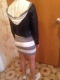 Вязаное платье. Фото 4.