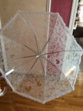 Непромокаемый свадебный зонт. Фото 1.