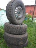 Зимние колеса nordman rs r15. Фото 4.