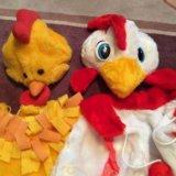 Костюм цыплёнок петух напрокат карнавальный. Фото 1.