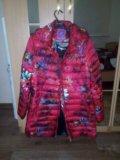 Куртка зимняя,носила беременной,размер 50-52. Фото 1.