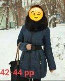 Зимний пуховик. недорого!!! срочно!!. Фото 1.