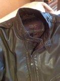 Zara куртка кожаная  italian 46-48 р. Фото 2.
