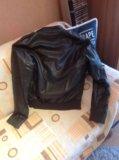 Zara куртка кожаная  italian 46-48 р. Фото 1.