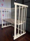Приставная кроватка кроха. Фото 1.