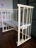 Приставная кроватка кроха. Фото 2.