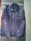 Куртка мужская кожа. Фото 1.