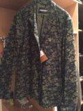 Пиджак хаки farah vintage. Фото 1.