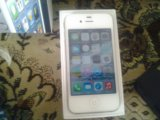 Iphone 4 white. Фото 1.