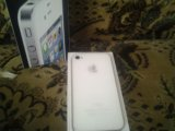 Iphone 4 white. Фото 3.