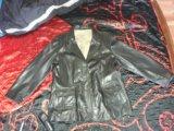 Кожаная куртка david moore new york. Фото 3.