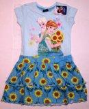 Платье disney 2-3г. Фото 1.