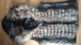 Продам кожаную куртку с отделкой из чернобурки!. Фото 4.