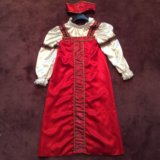 Платье русская крестьянка красавица напрокат. Фото 1.
