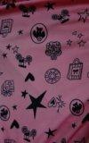Свитшот розовый с черным рисунком. Фото 2.