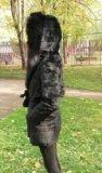 Шуба из меха кролика. Фото 2.