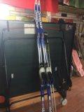 Комплект беговых лыж. Фото 1.