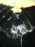 Шуба мутон-норка. Фото 2.