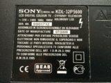 Sony bravia kdl-32p5600. Фото 3.
