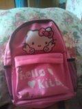 Маленький портфель hello kitty. Фото 1.