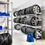 Сезонное хранение шин, дисков, колёс. Фото 1.