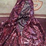 Карнавальный плащ напрокат фея маг чародей. Фото 1.